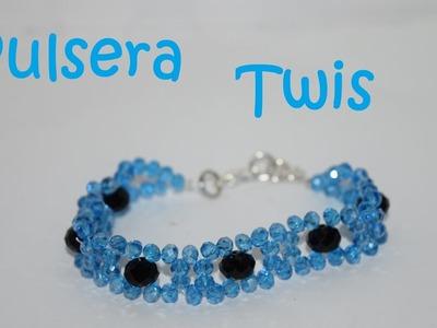 Pulsera Twis - Tutorial - DIY