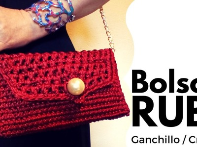 """Bolso """"Rubí"""" (ganchillo. crochet) #DIY"""