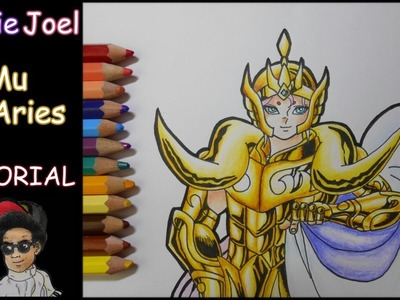 Como dibujar a Mu de Aries | How to draw Aries Mu (Tutorial lápices de colores Faber-castell)
