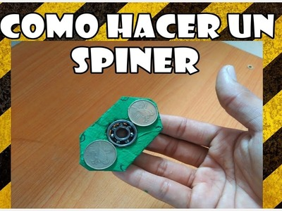 Como hacer un SPINER. How to make a SPINNER