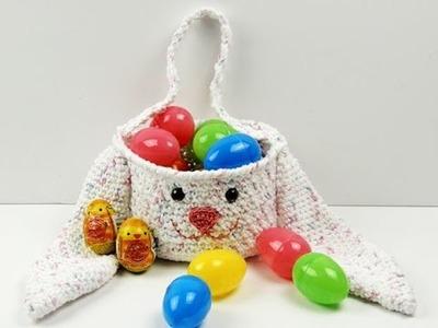 Crochet: Cesta de Conejo de Pascua