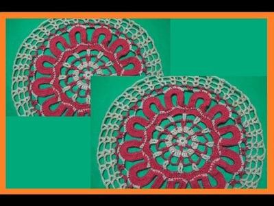Mandala (Circulo) a Crochet