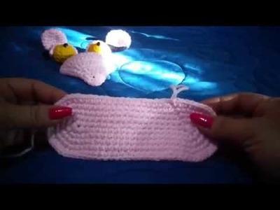 Pantera Rosa al crochet. segunda parte: cabeza