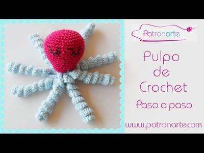 Pulpo de Crochet paso a paso