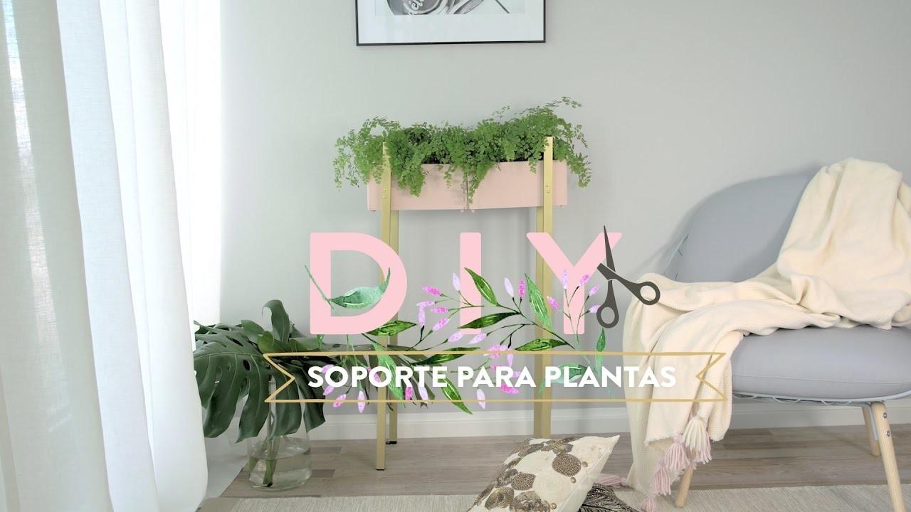 Cómo fabricar un soporte para plantas | DIY Westwing