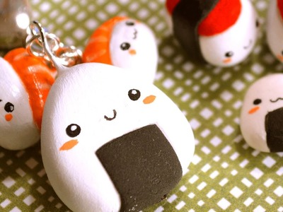 Comida Japonesa con Foamy Moldeable [DIY - Sushi Charm]