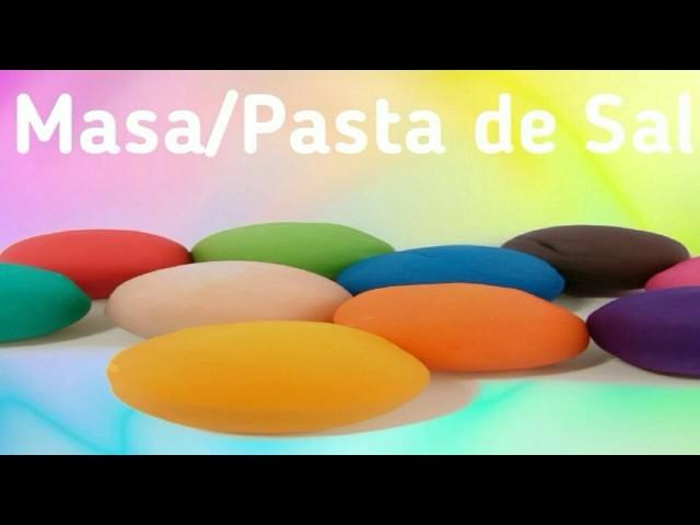 Diy ✔ Masa.Pasta de Sal