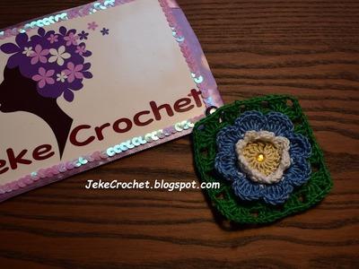 Flor Francis Paso a Paso- Crochet- Ganchillo- Uncinetto