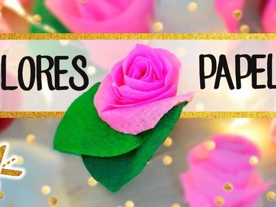 Flores de Papel - 3 DIY paso a paso