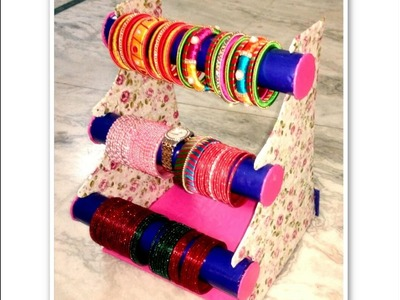 How to make bangle stand | Bangles Stand | DIY | Bangle box