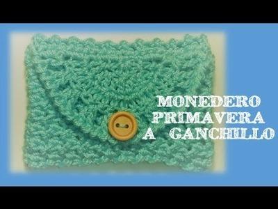MONEDERO PRIMAVERA A GANCHILLO | CROCHET