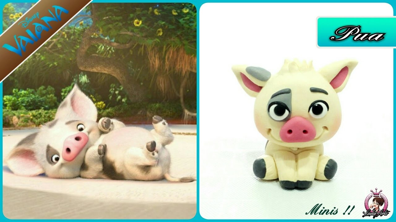 PUA | Polymer Clay Tutorial | Disney