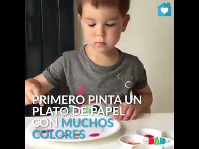 Camaleon Interactivo Facil de Hacer. Manualidades para Niños
