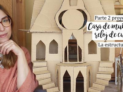 Casa muñecas - Parte 2 - Manualidades con cajas de carton