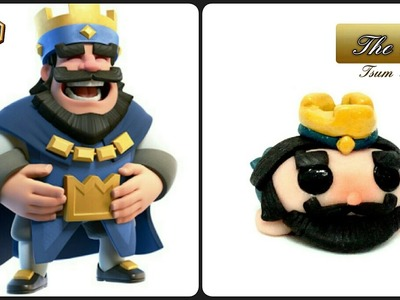 CLASH ROYALE | King | Polymer Clay Tutorial