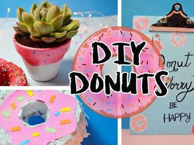 DIY 3 Manualidades de Donuts