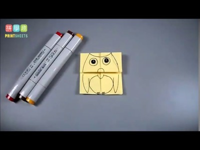 MANUALIDADES - Animales que hablan -(figuras de papel) - Arte-Sano