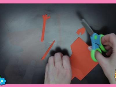 Manualidades de pascua - Patito de papel