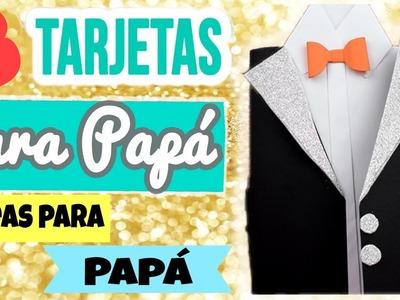 Tarjetas para el Día del Padre DIY- Manualidades para el dia del padre DIY- en español