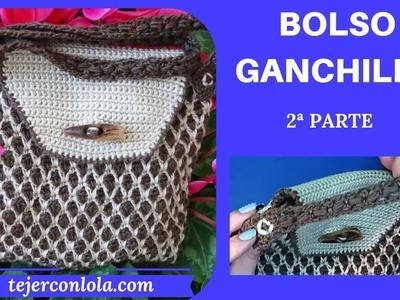 BOLSO GANCHILLO 2º PARTE