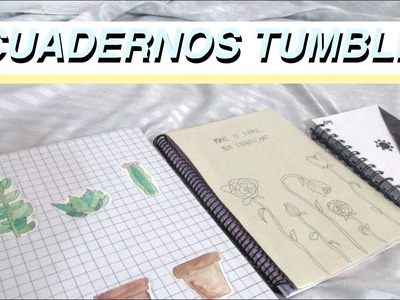 CUADERNOS TUMBLR | Estilo minimalista.aesthetic | DIY with Sofia