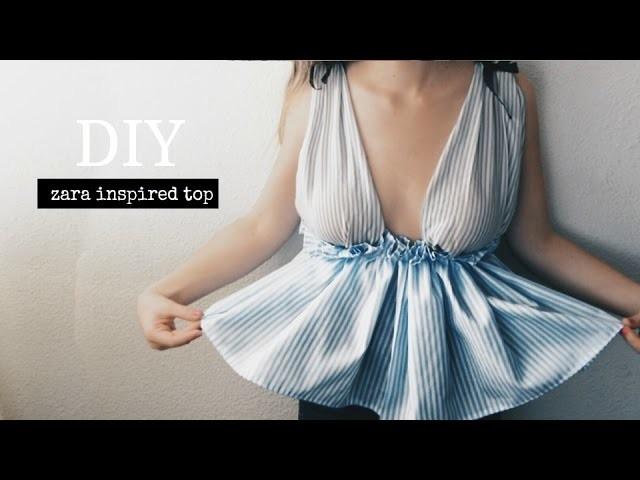 DIY Blusa de rayas - Zara inspired | Monica Beneyto