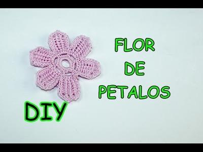 DIY. FLOR DE PETALOS