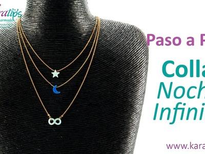 DIY Intermedio - Collar Noche Infinita - Karatips
