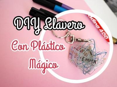 DIY Llavero con PLÁSTICO MÁGICO