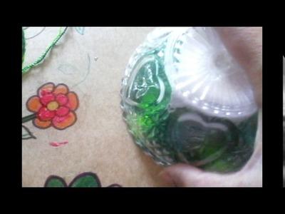 Ganchillo - Tejer poza vasos o musgo para flores