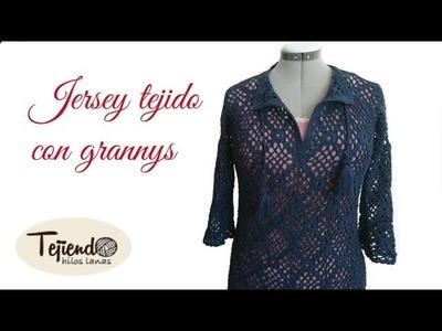 Jersey tejido aganchillo ( 2 de 2 )