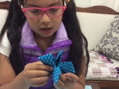 Mesa súper aguantadora - Origami para niños #2