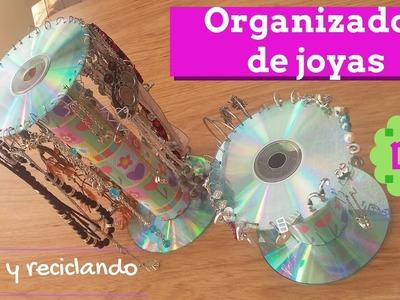 Organizador de joyas Reciclado!! DIY