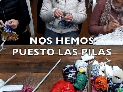 Parasol de Ganchillo: ¡nos ponemos las pilas!