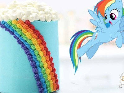 PASTEL DE RAINBOW DASH (MY LITTLE PONY) - BAKING DAY