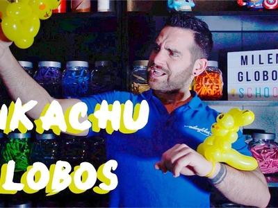Pikachu de globos - Tutorial de globoflexia - Pokemon Pikachu balloons