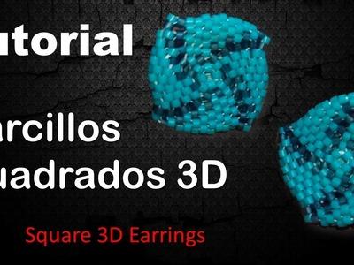 Zarcillo Cuadrado 3D TUTORIAL Paso a Paso - English Subtitles