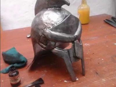 """Como hacer casco """" GLADIADOR"""" Máximo Décimo Meridio (película)."""