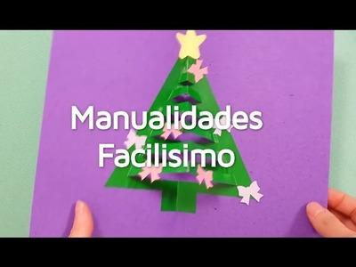 Cómo hacer una tarjeta navideña pop up| facilisimo.com