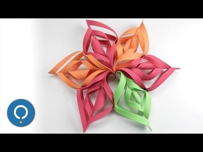 Decoración para navidad fácil de hacer - GUIRNALDAS CASERAS