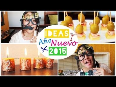 Ideas Para Un Feliz Año NUEVO (2015) DIY