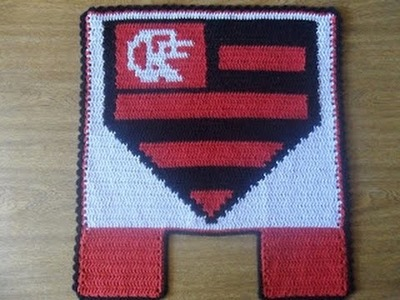JB- Flamengo-tapete do vaso