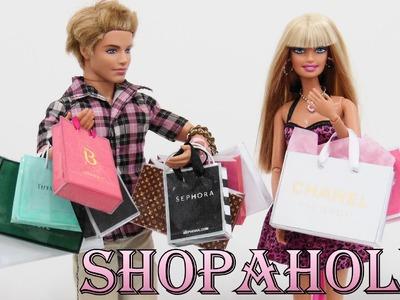 Sacolas de Compras para Barbie DIY