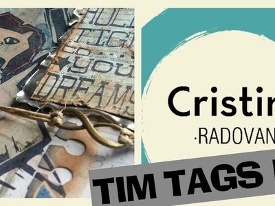 SCRAPBOOKING EN ESPAÑOL. TINTAS DISTRESS  TIM TAGS IV