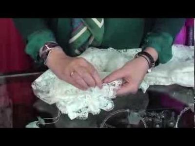 Tutorial : Como preparar la mantilla de novia