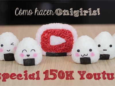 Cómo hacer Onigiris - 150K Youtube. Dacosta's Bakery