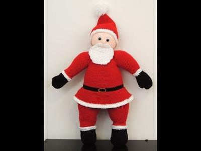 Crochet: Querido Santa. Parte 2. Barba, Bigote y Gorro