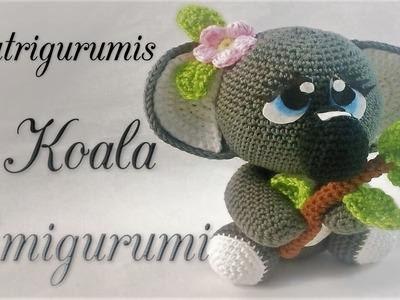 DIY koala Amigurumi