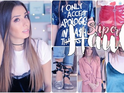 SUPER HAUL! Zara, Pull and Bear, H&M, Asos, Mango y más! | A Little Too Often