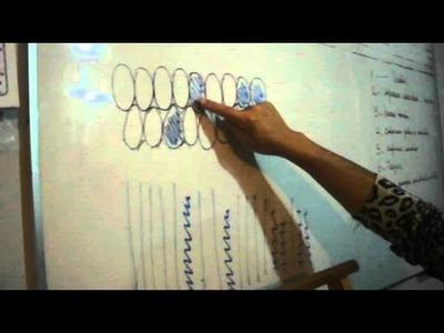 TELAR ABORIGEN - Paso 1 Cómo leer diagramas - Segunda Parte URDIDO